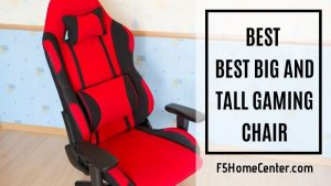 Feel Supported With The Best Big And Tall Gaming Chair